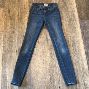 Girls Hudson skinny jeans 10